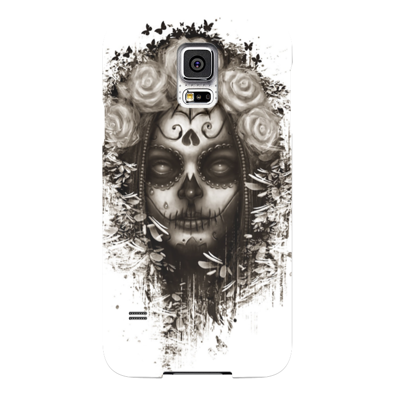 Чехол для Samsung Galaxy S5 Printio Santa muerte чехол для samsung galaxy s5 printio череп художник