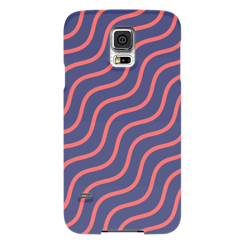 Чехол для Samsung Galaxy S5 Printio Волнистый чехол для samsung galaxy s5 printio барселона на samsung galaxy s5