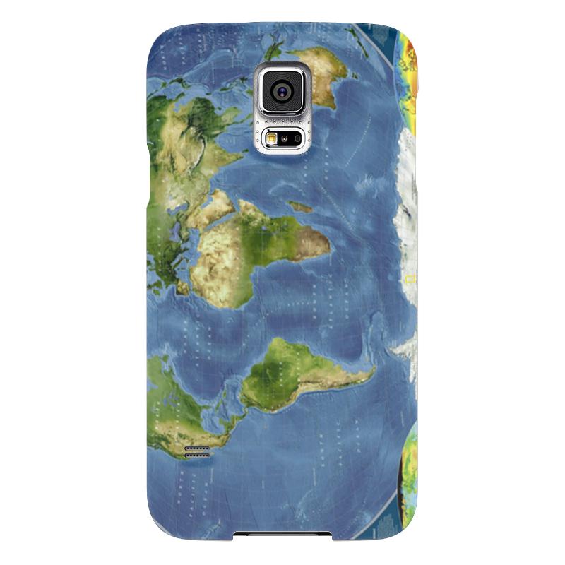 Чехол для Samsung Galaxy S5 Printio Карта мира чехол для samsung galaxy s5 printio череп художник