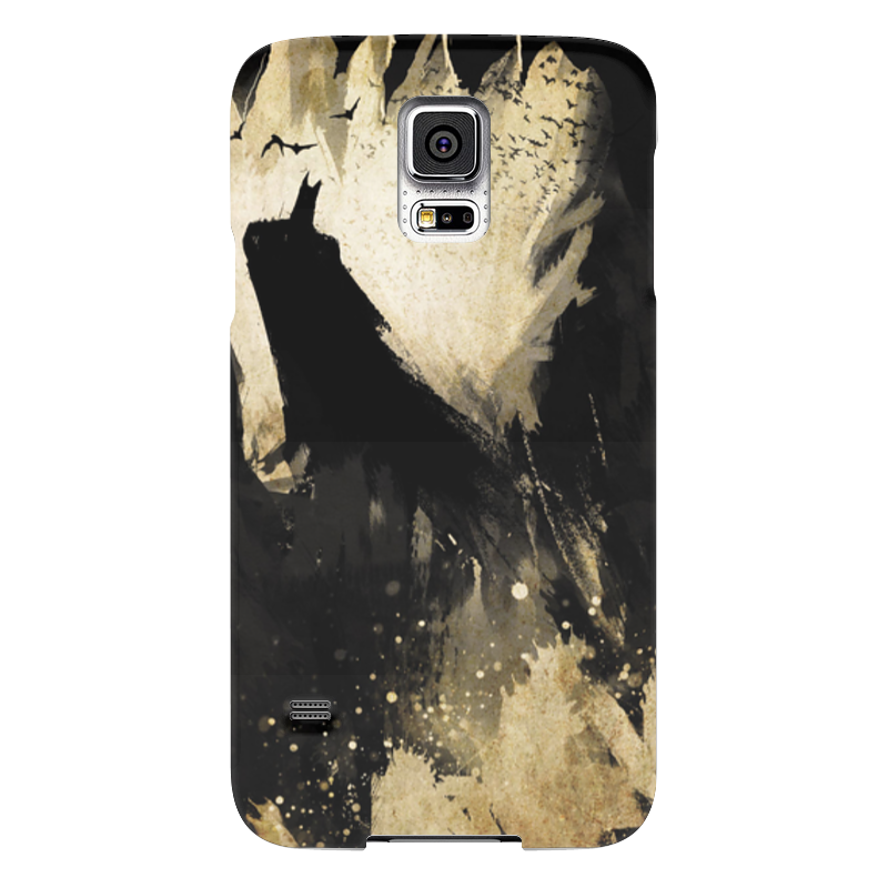 Чехол для Samsung Galaxy S5 Printio Бэтмен samsung g900h galaxy s5 16гб белый в омске