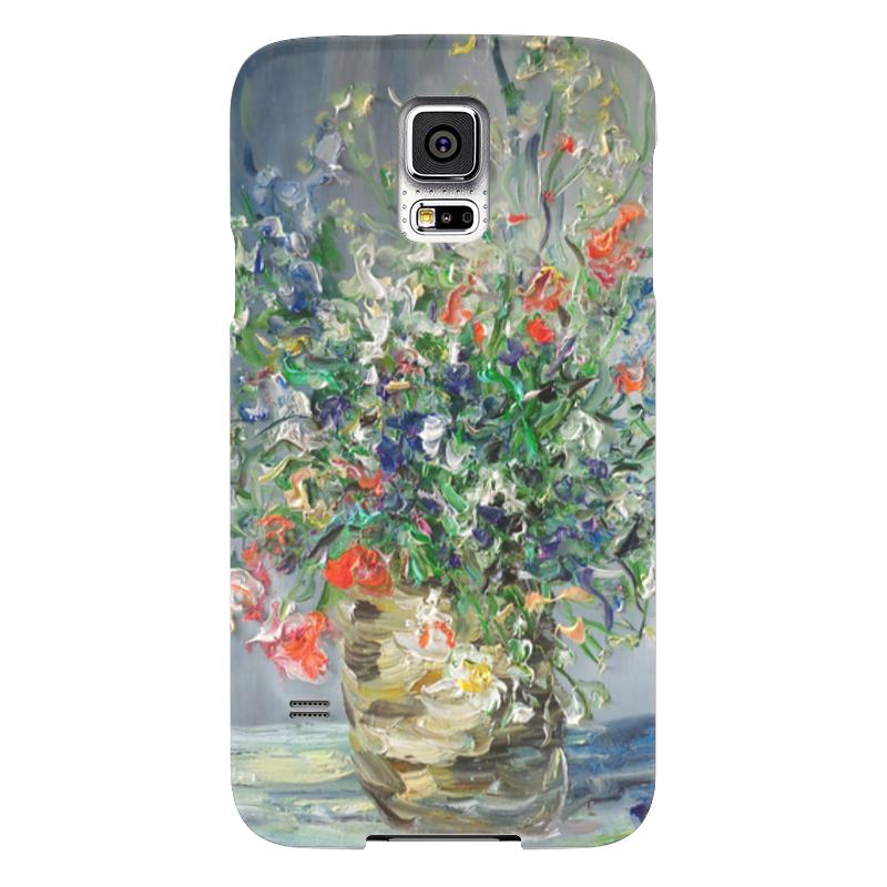 Чехол для Samsung Galaxy S5 Printio Сиянье samsung g900h galaxy s5 16гб белый в омске
