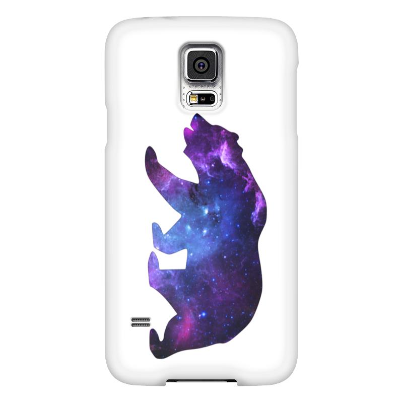 Чехол для Samsung Galaxy S5 Printio Space animals чехол для samsung galaxy s5 printio череп художник
