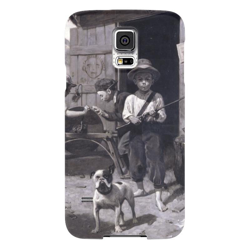 Чехол для Samsung Galaxy S5 Printio Slim finnegan чехол для samsung galaxy s5 printio череп художник