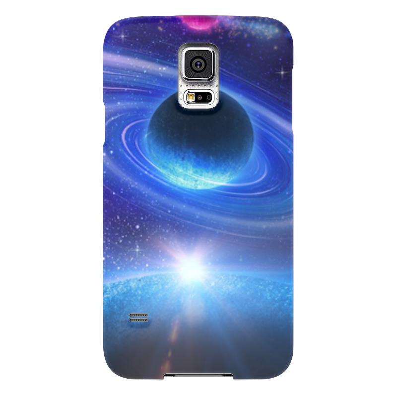 Чехол для Samsung Galaxy S5 Printio Космос samsung g900h galaxy s5 16гб белый в омске