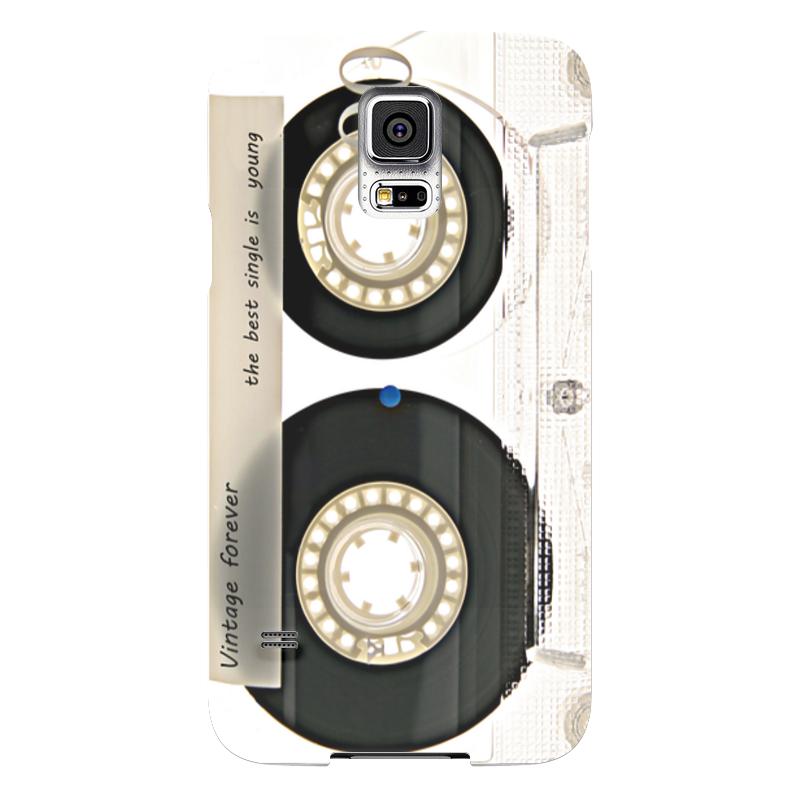 Чехол для Samsung Galaxy S5 Printio Кассета винтаж