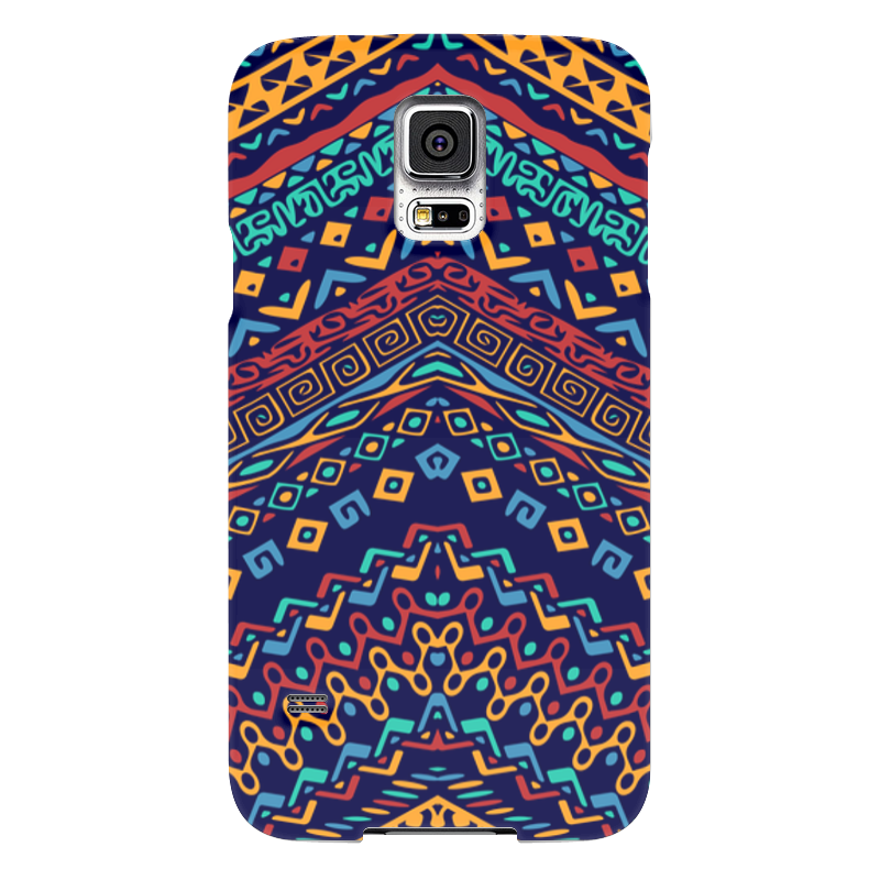 Чехол для Samsung Galaxy S5 Printio Узорный чехол для samsung galaxy s5 printio череп художник