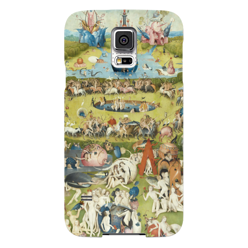 Чехол для Samsung Galaxy S5 Printio Сад земных наслаждений юбка в складку printio сад земных наслаждений