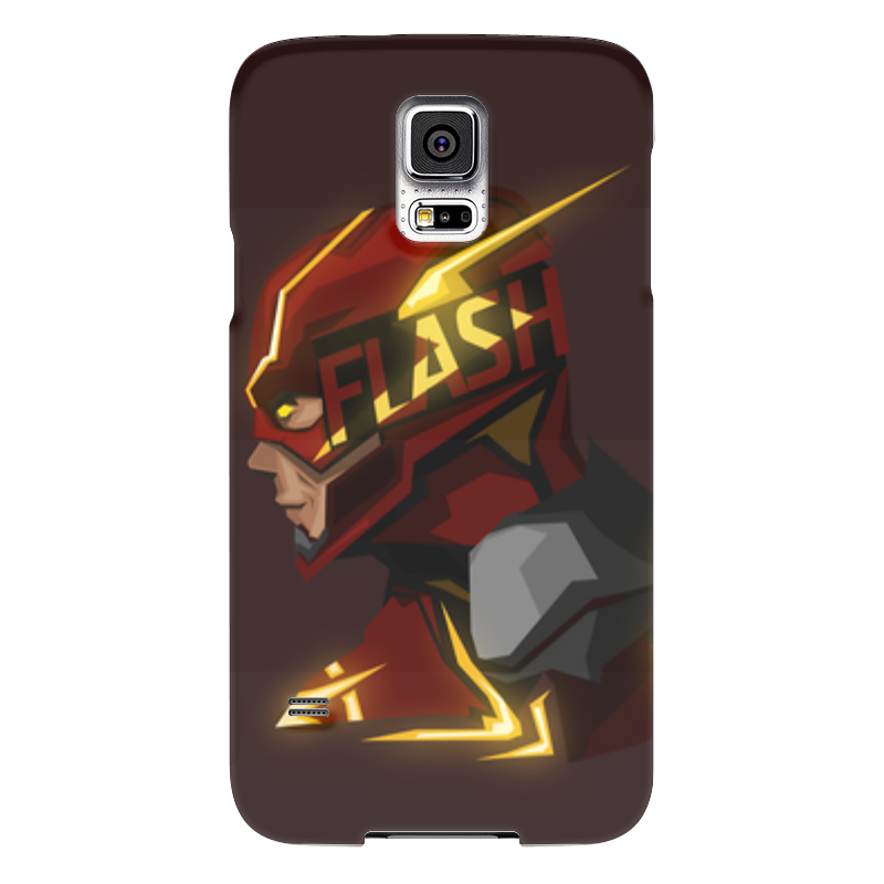 Чехол для Samsung Galaxy S5 Printio Flash чехол для samsung galaxy s5 printio череп художник