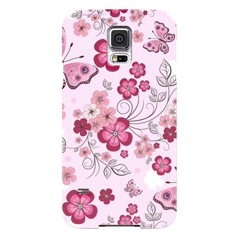 Чехол для Samsung Galaxy S5 Printio Бабочки чехол для samsung galaxy s5 printio барселона на samsung galaxy s5