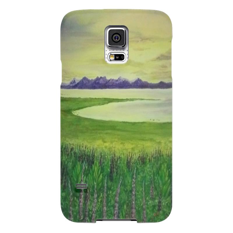 Чехол для Samsung Galaxy S5 Printio Прованс чехол для samsung galaxy s5 printio череп художник