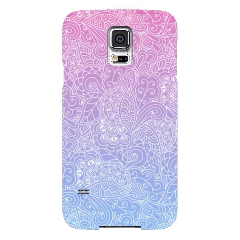Чехол для Samsung Galaxy S5 Printio Градиентный узор чехол для samsung galaxy s5 printio череп художник