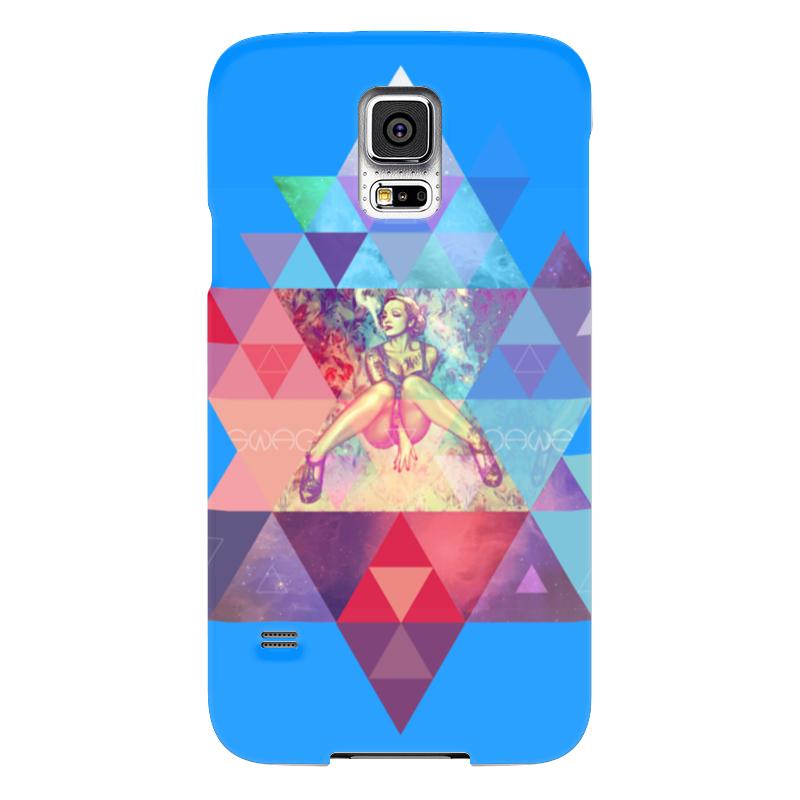 Чехол для Samsung Galaxy S5 Printio hipsta swag collection: marlene dietrich