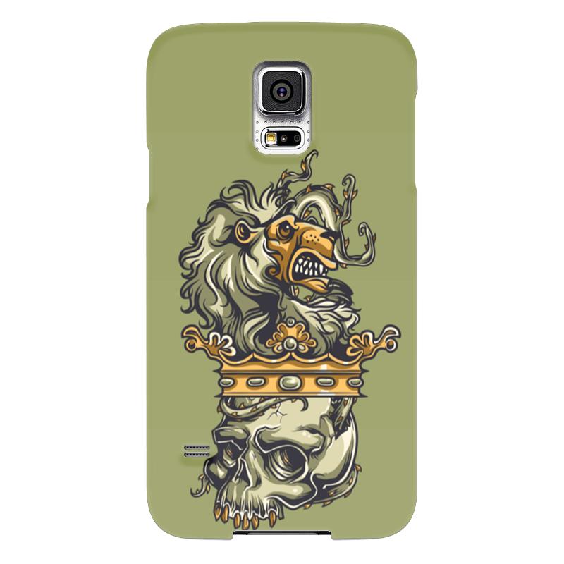 Чехол для Samsung Galaxy S5 Printio Череп и лев чехол для samsung galaxy s5 printio череп