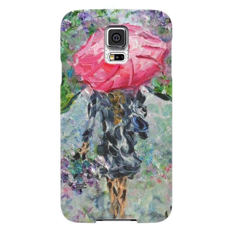 Чехол для Samsung Galaxy S5 Printio Запах дождя никита павлов картина новгород дождь