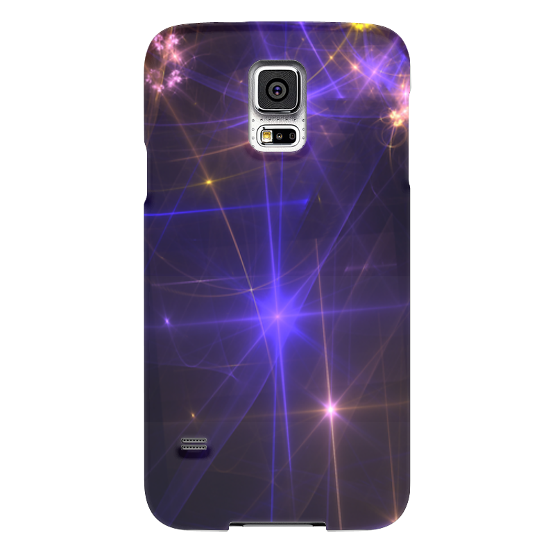 Чехол для Samsung Galaxy S5 Printio Световая фантазия чехол для samsung galaxy s5 printio фантазия