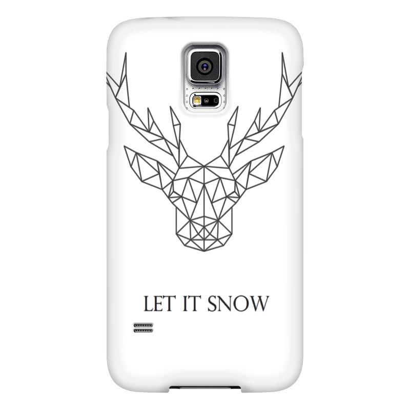Чехол для Samsung Galaxy S5 Printio Dear deer чехол для samsung galaxy s5 printio череп художник