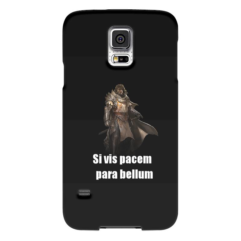 Чехол для Samsung Galaxy S5 Printio Хочешь мира - готовься к войне чехол для samsung galaxy s5 printio череп художник