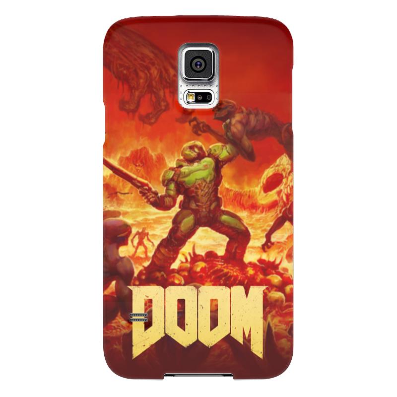 Чехол для Samsung Galaxy S5 Printio Doom чехол для samsung galaxy s5 printio череп художник