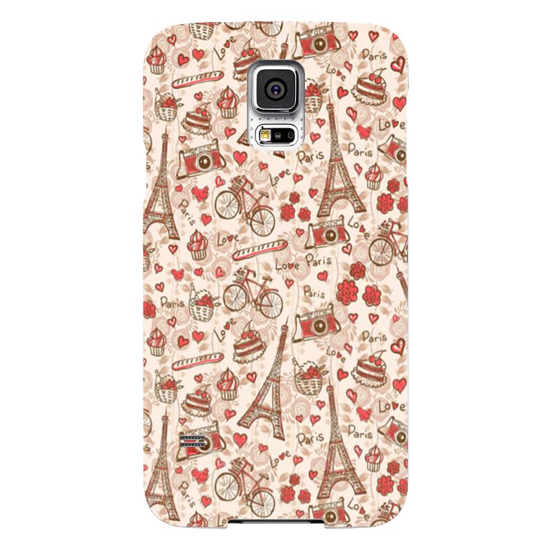 Чехол для Samsung Galaxy S5 Printio Париж чехол для samsung galaxy s5 printio череп художник