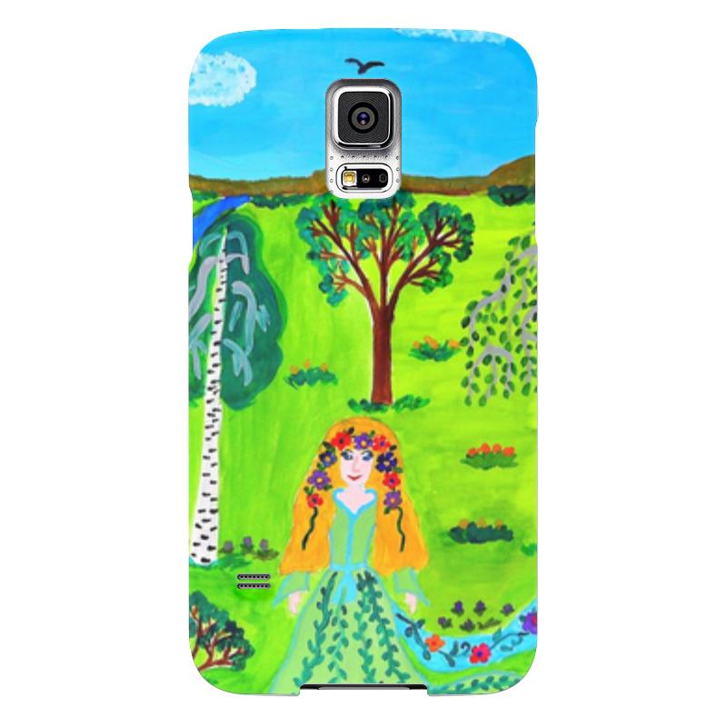 Чехол для Samsung Galaxy S5 Printio Мир волшебства чехол для samsung galaxy s5 printio череп художник