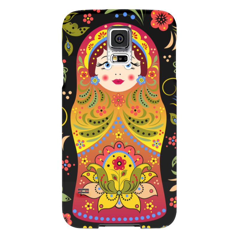 Чехол для Samsung Galaxy S5 Printio Матрёшка samsung g900h galaxy s5 16гб белый в омске