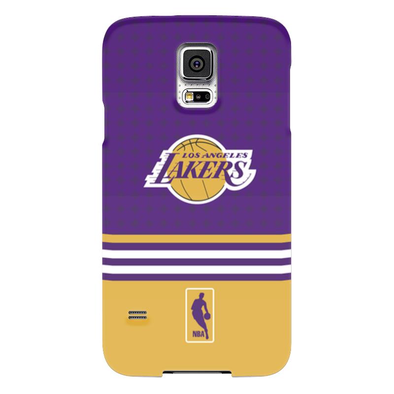 Чехол для Samsung Galaxy S5 Printio Lakers case pro чехол для samsung galaxy s5 printio череп художник