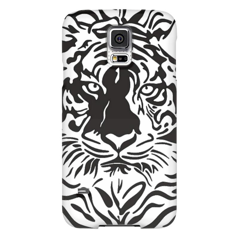 Чехол для Samsung Galaxy S5 Printio Взгляд тигра чехол для samsung galaxy s5 printio череп художник