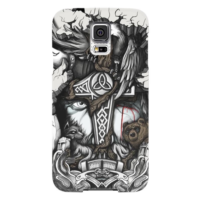 Чехол для Samsung Galaxy S5 Printio Великий один samsung g900h galaxy s5 16гб белый в омске