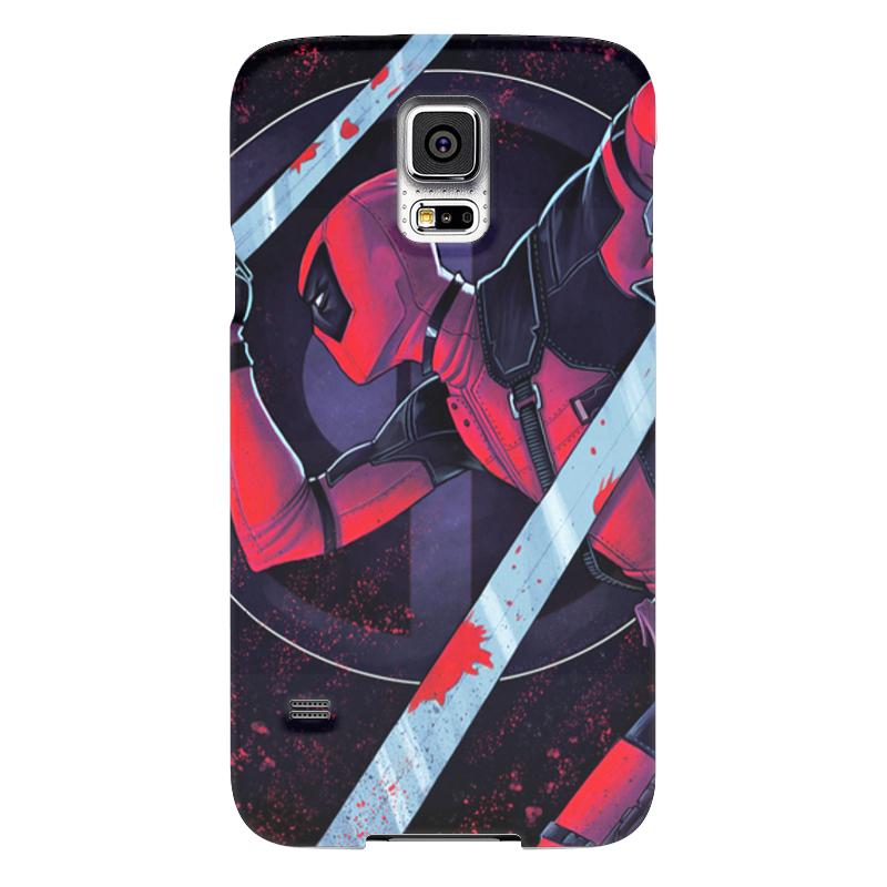 Чехол для Samsung Galaxy S5 Printio Дэдпул (deadpool) чехол для samsung galaxy s5 printio череп художник