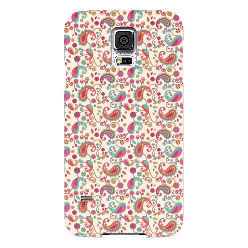 Чехол для Samsung Galaxy S5 Printio Пейсли (яркий) чехол для samsung galaxy s5 printio охота
