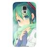 "Чехол для Samsung Galaxy S5 ""Miku Hatsune Sush"" - аниме, hatsune, мику, бесконечное лето, miku"