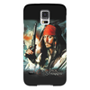 "Чехол для Samsung Galaxy S5 ""Капитан Джек Воробей ""Пираты карибского моря"" #2."" - джонни депп, пират, капитан, johnny depp, джек воробей, пираты карибского моря, pirates of the caribbean"