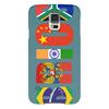 "Чехол для Samsung Galaxy S5 ""BRICS - БРИКС"" - россия, китай, индия, бразилия, юар"
