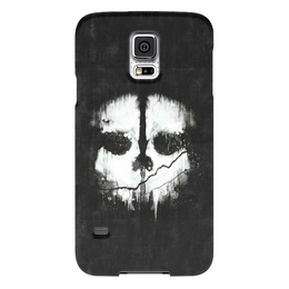"Чехол для Samsung Galaxy S5 ""Call of Duty: Ghosts"" - call of duty, шутер, ghosts, логан уокер, легенда о призраках"