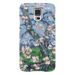 """Чехол для Samsung Galaxy S5 """"Сакура"""" - весна, дерево, цветочки, сакура, ветка"""