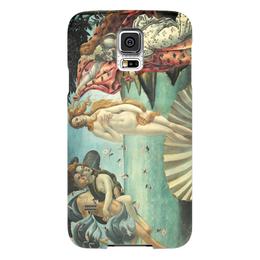 "Чехол для Samsung Galaxy S5 ""Рождение Венеры (Сандро Боттичелли)"" - картина, боттичелли"