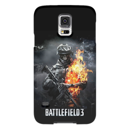 "Чехол для Samsung Galaxy S5 ""Battlefield 3"" - battlefield 3, battlefield, video games"