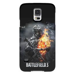 "Чехол для Samsung Galaxy S5 ""Battlefield 3"" - battlefield, battlefield 3, video games"