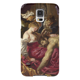 """Чехол для Samsung Galaxy S5 """"Самсон и Далила (картина Питера Пауля Рубенса)"""" - картина, библия, рубенс"""