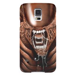 "Чехол для Samsung Galaxy S5 ""Чужой"" - хищник, alien, чужой, predator, алиен"