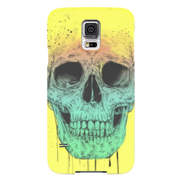 "Чехол для Samsung Galaxy S5 ""Череп"" - skull, череп, поп арт, pop art"