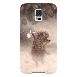 """Чехол для Samsung Galaxy S5 """"Ежик в тумане"""" - ежик, советские мульты, в тумане"""