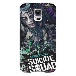 """Чехол для Samsung Galaxy S5 """"Чаровница"""" - комиксы, dc, отряд самоубийц, suicide squad, чаровница"""