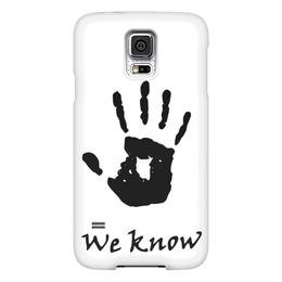 """Чехол для Samsung Galaxy S5 """"Темное братство"""" - игра, skyrim, tes, скайрим, братство"""