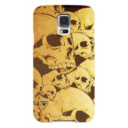 "Чехол для Samsung Galaxy S5 ""Черепа"" - skull, череп, sticker, наклейка"