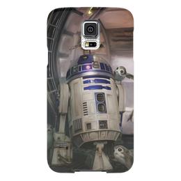 "Чехол для Samsung Galaxy S5 ""Звездные войны - R2-D2"" - звездные войны, фантастика, кино, дарт вейдер, star wars"