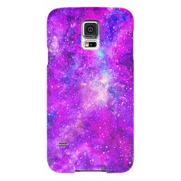 """Чехол для Samsung Galaxy S5 """"Космос (розовый)"""" - space, космос, вселенная, космический, pink space"""