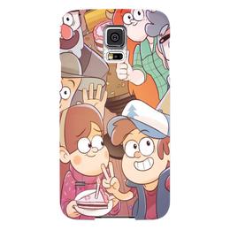 "Чехол для Samsung Galaxy S5 ""Гравити фолз"" - гравити фолз, диппер, мэйбл"