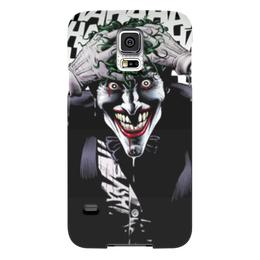 """Чехол для Samsung Galaxy S5 """"Сумасшедший Джокер"""" - джокер, харли квинн, бетмен, отряд самоубийц, готем"""