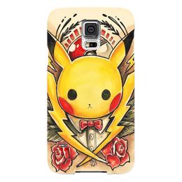 "Чехол для Samsung Galaxy S5 ""Pikachu"" - юмор, пикачу, pikachu"